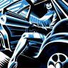 BRUTE!/KMFDM 'A Drug Against War' canvas print